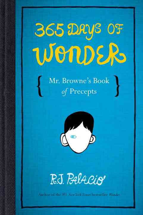 365 Days of Wonder By Palacio, R. J.